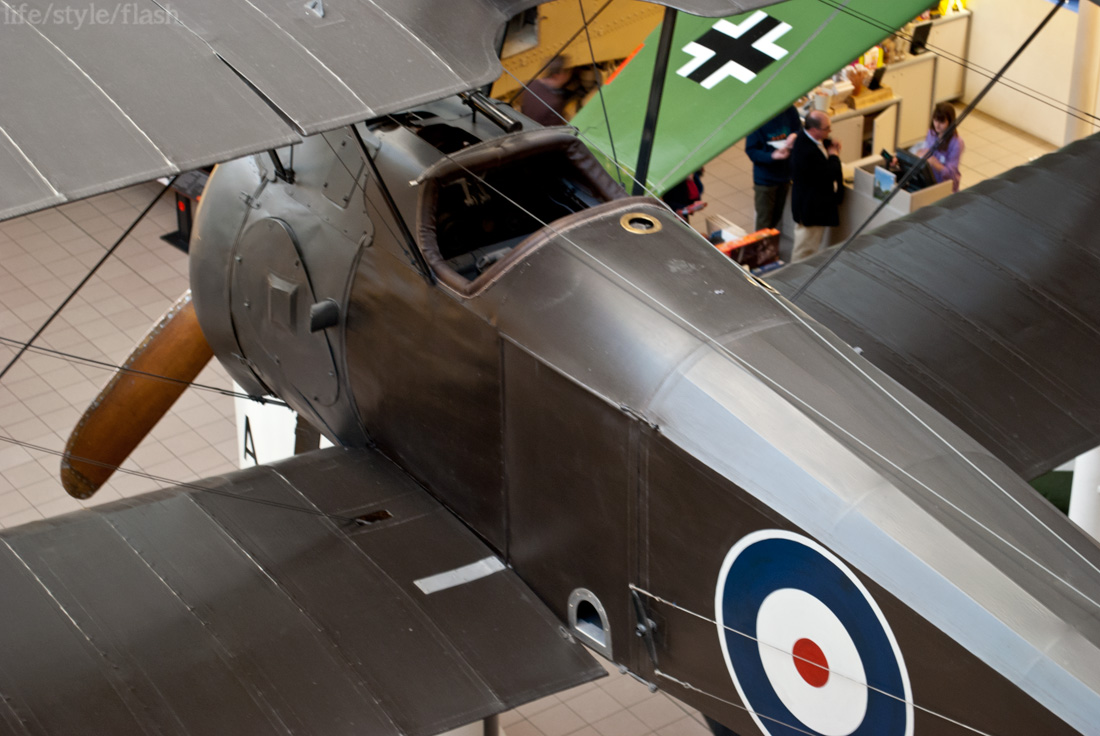Warplane in IWM London