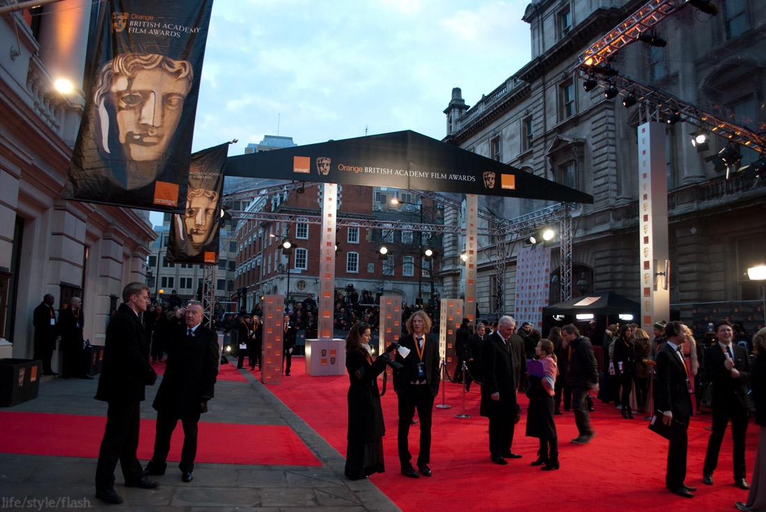 BAFTA awards 2012 - red carpet