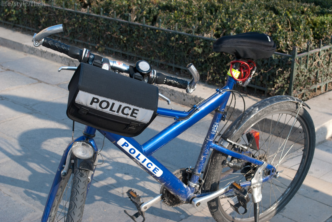 French Police bicycle