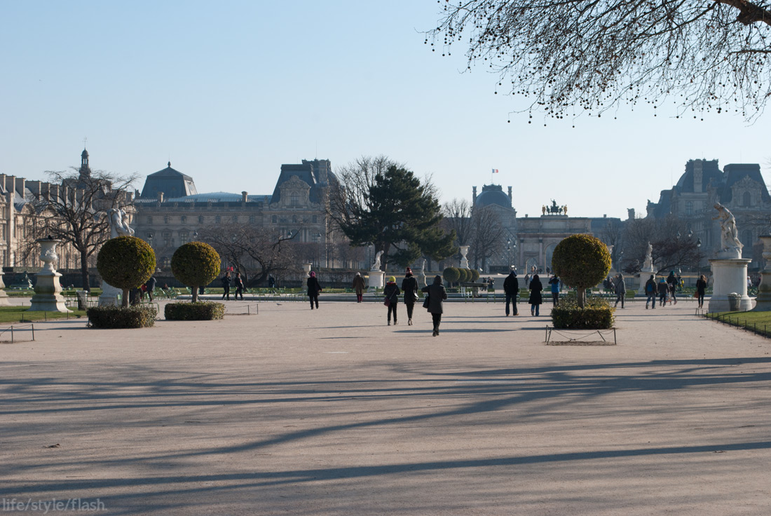 Paris Jardin de Tuileries