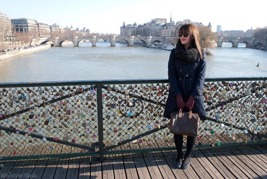 Me on the Pont des Arts