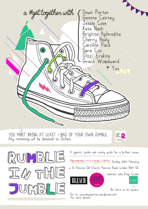 Oxfam Rumble In The Jumble details