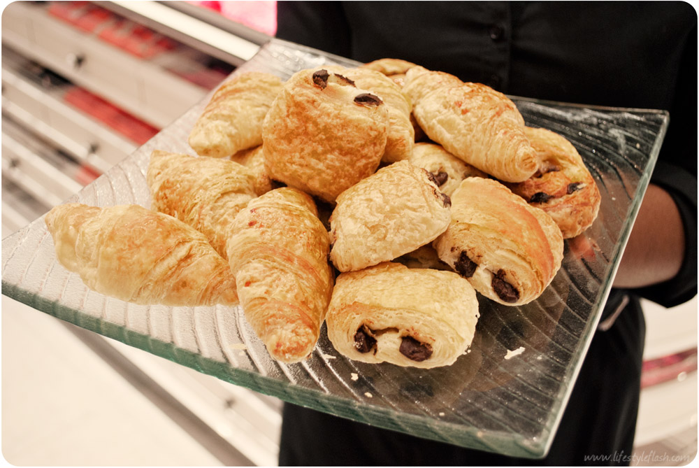 Boux Avenue Westfield London - breakfast pastries