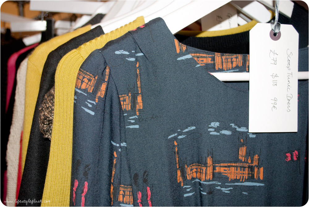 Boden AW12 press day - westminster print tunic