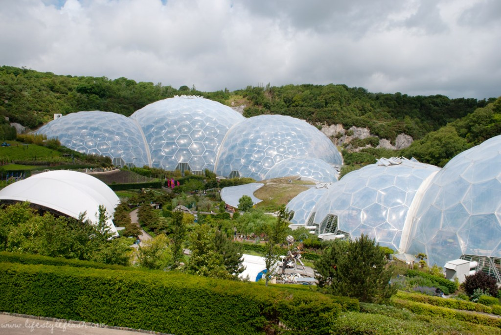 Cornwall: Eden Project biomes