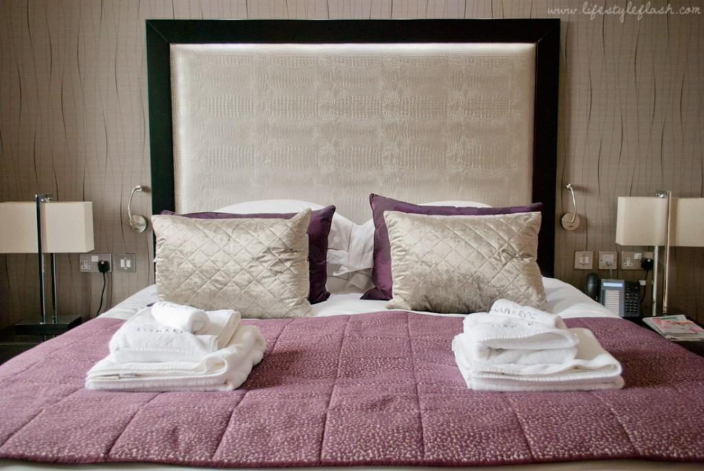Llawnroc hotel, Cornwall: wonderful bed