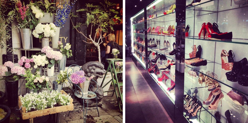 "Instagram photos - Liberty ""Wild at Heart"" florist, shoes at Topshop Oxford Circus"