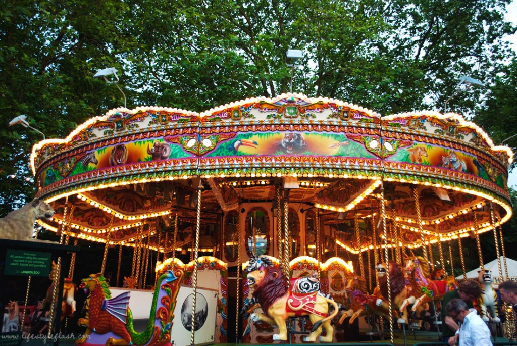 London Zoo Lates | carousel / merry-go-round