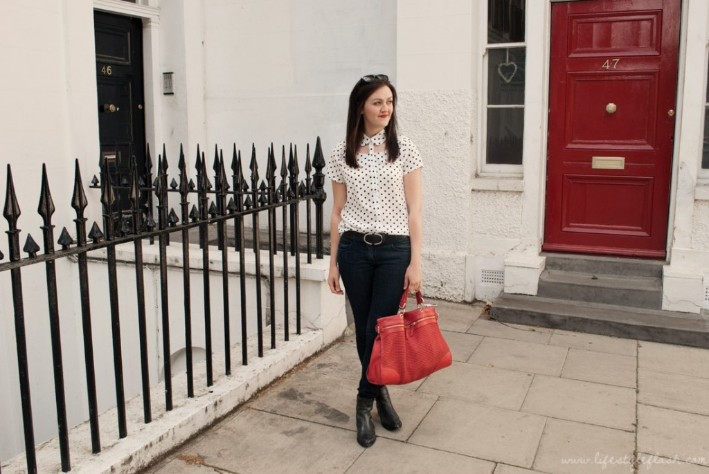 Outfit - Glamorous shirt, River Island jeans, ASOS boots