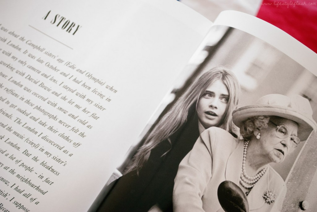 Cara Delevigne and the 'Queen' in LOVE magazine AW12 (Issue 8)