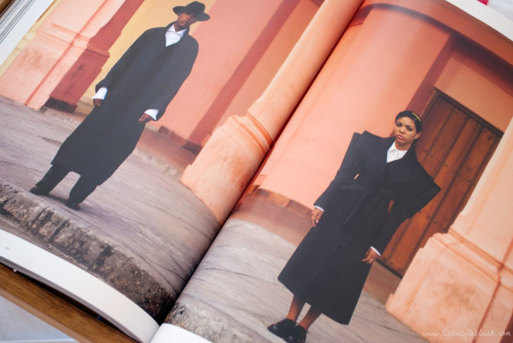 Fashion editorial in LOVE magazine AW12 (Issue 8)