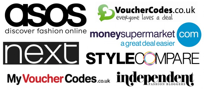 The brands and websites that have featured my blog.