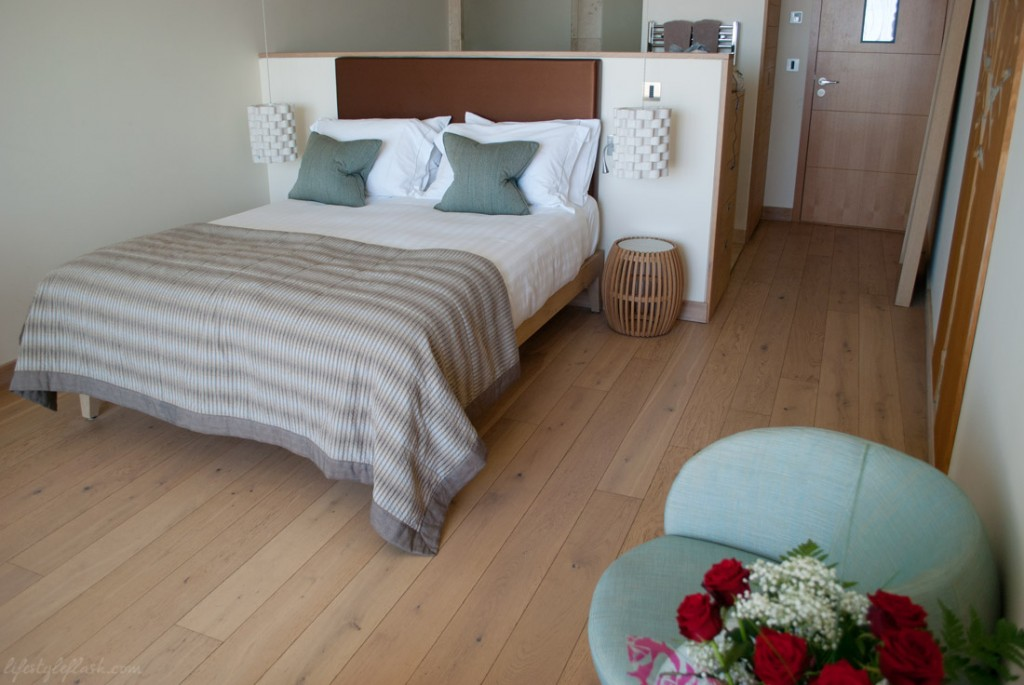 Just Right rooms at The Scarlet hotel, Mawgan Porth, Cornwall