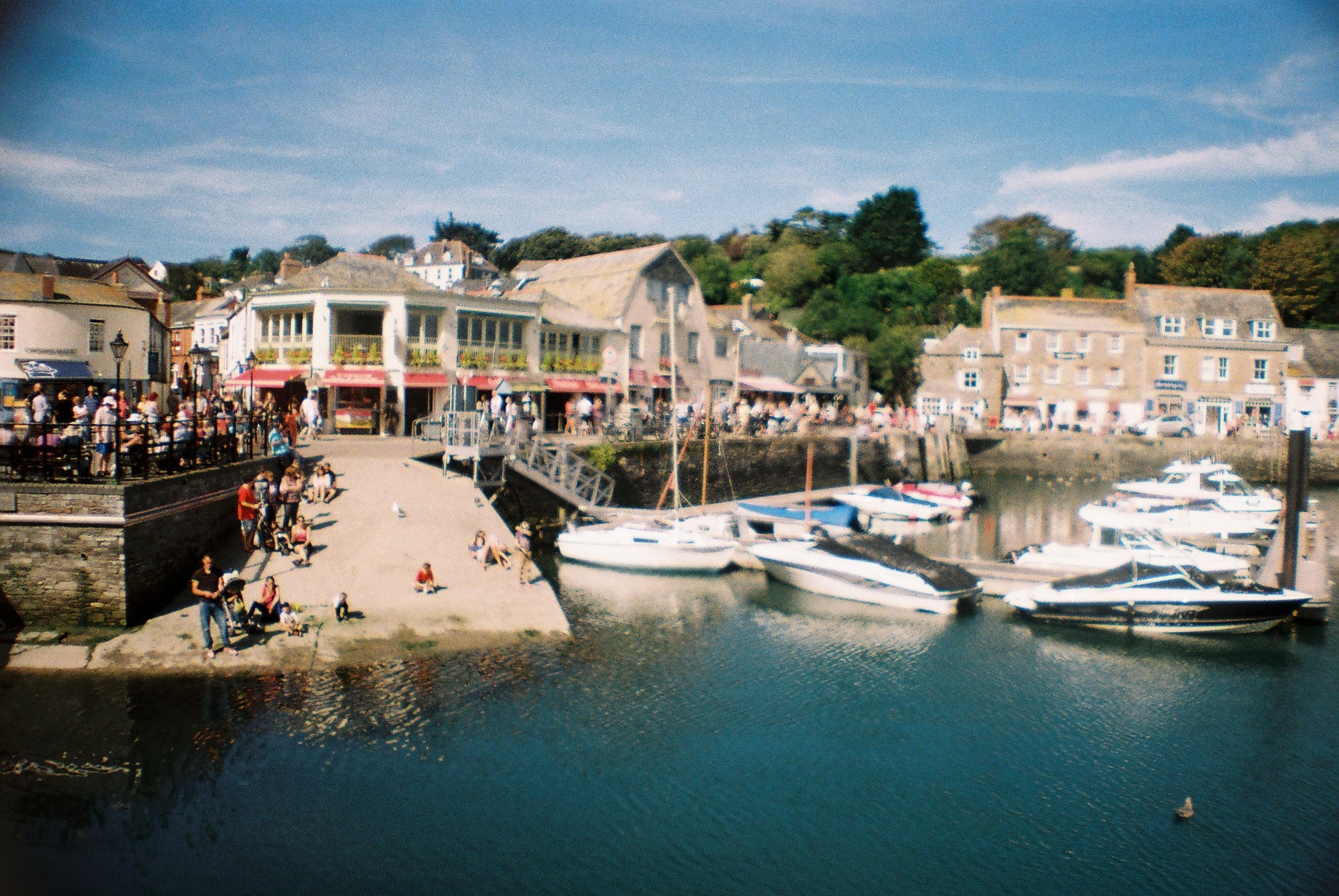 Padstow's quaint harbour