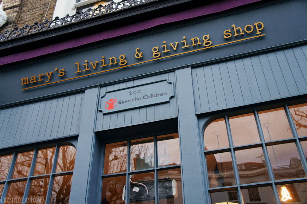 mary's living & giving shop, Primrose Hill