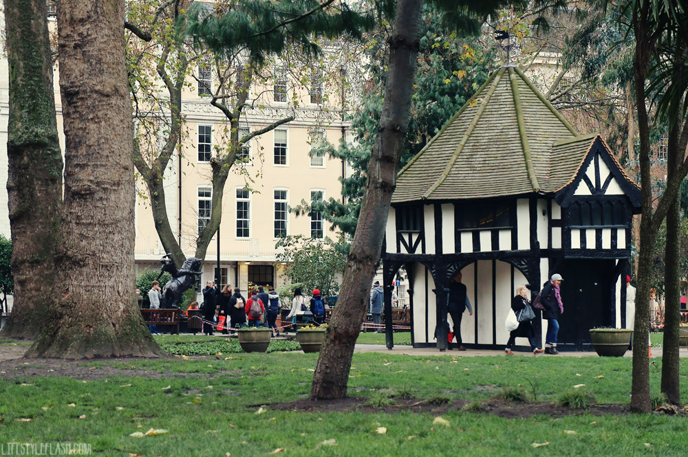 Soho Square gardener's hut