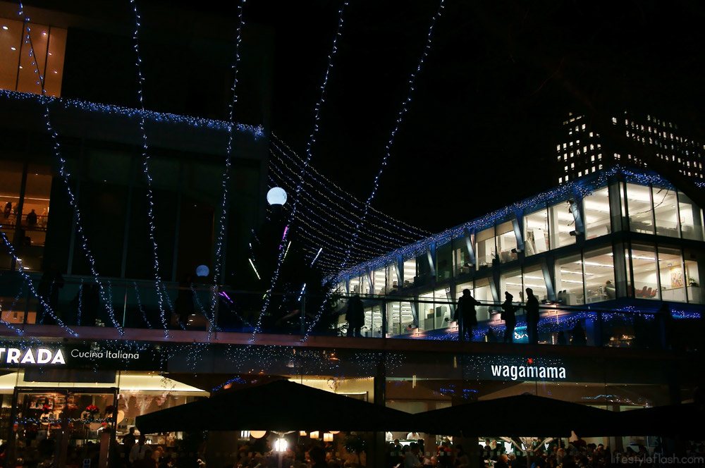 London's Southbank at Christmas