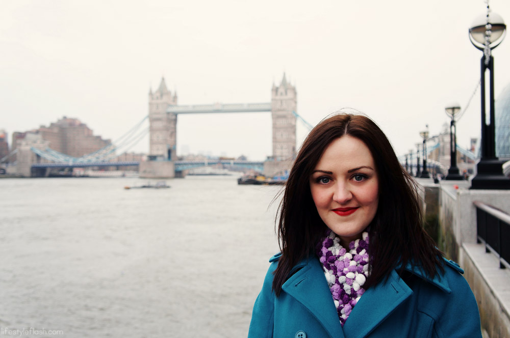 With Tower Bridge, London