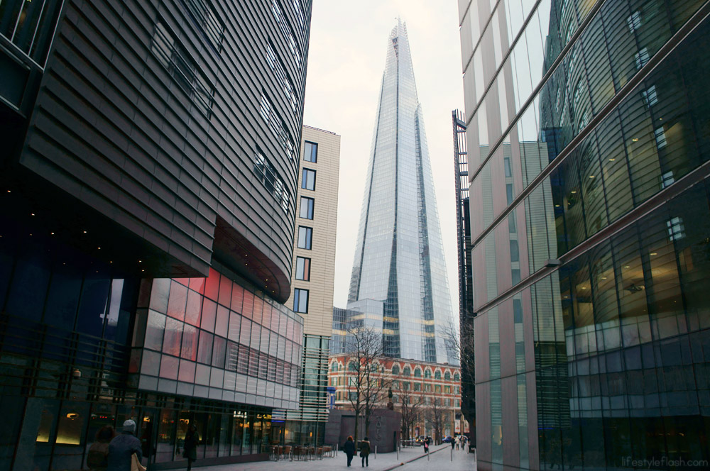 The Shard, as seen from More London Place