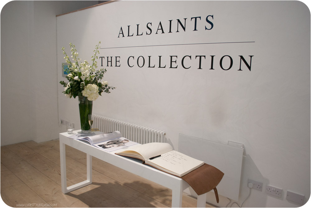 """AllSaints AW12 press day entrance - """"AllSaints: The Collection"""""""