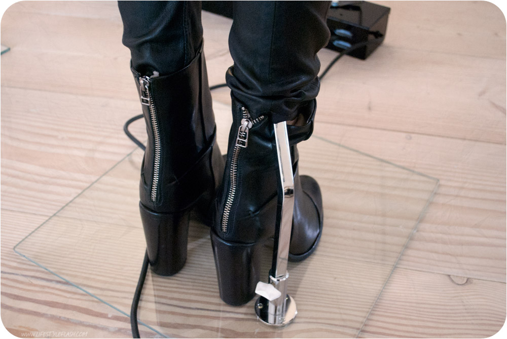 All Saints AW12 press day - zip-back boots