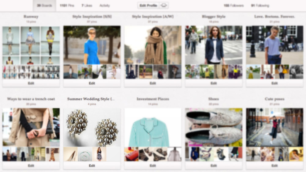 Pinterest boards by Becky Colley (lifestyleflash)